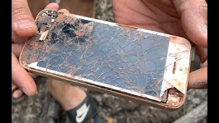 Restore Abandoned IPhone 5s Phone | Restore A 7 Years Old IPhone Phone Left In The Trash