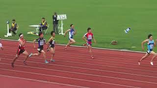 青森県春季陸上2018.5.6男200m決勝