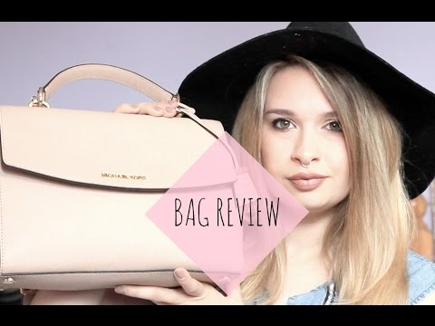 Bag Review ♡ Michael Kors Ava Small Saffiano Leather Satchel ♡