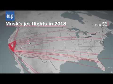 Elon Muskin lentelyt 2018 lisättynä Pinball-peliäänillä