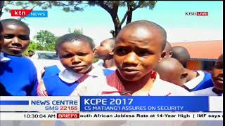 Nyamage Primary School in Kisii county speak on their KCPE exams so far