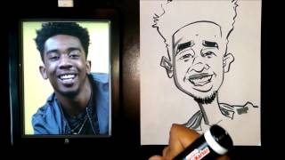 How To Draw A Quick Caricature Desiigner