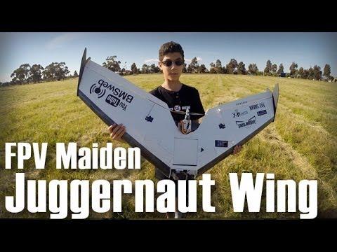 juggernaut-fpv-wing-fpv-maiden--testing