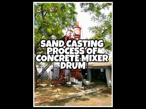 Cement Concrete Mixer Drum
