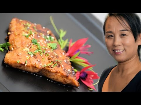 Chinese Sweet & Spicy Salmon (Chinese Style Cooking Recipe)