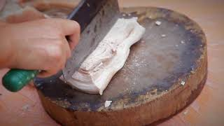 孟公屋成氏傳統咸菜炆豬肉