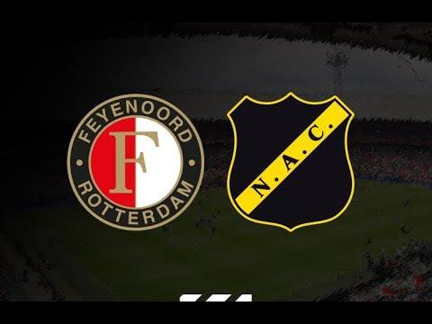 Feyenoord neemt in tweede helft afstand van NAC: eindstand 4-2