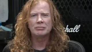 Dave Mustaine Speaks To Fans After Cancer Diagnosis