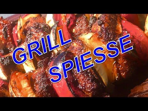 MANGAL GRILL SPIESSE mit Chicken Klausi Goreng —- Klaus grillt