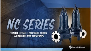 NC Series Non-Clog Pumps - Product Highlight Video