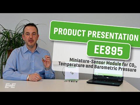 EE895 Sensormodul für CO2, Temperatur und Umgebungsdruck