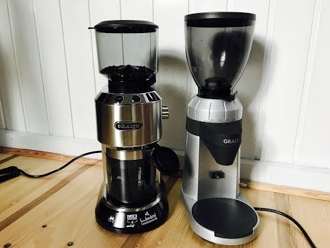Test De'Longhi KG 520 M und Graef CM 800 Kaffeemühlen im Vergleich