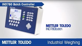 Automatic batching with IND780batch
