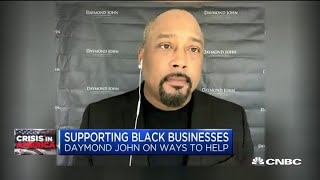 Fubu CEO Daymond John on supporting black businesses