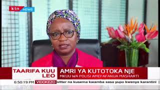 Daktari Asha Mohammed apongeza serikali kwa kuweka mikakati ya mapema kupunguza kuenea kwa virusi vy