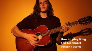 King and Lionheart- Guitar Tutorial-Lesson of Monster and Men