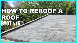 DIY: How To Reroof A Roof