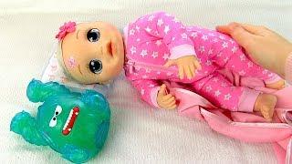 ЧТО ПРИСНИЛОСЬ ОЛЕ? Укладываем Спать Куклу Беби Элайв Играем #Какмама в #Игрушки Для девочек