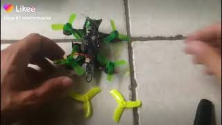 Happy model mantis 85 rtf how to switch out props unsponsored unbiased reviews tutorial #fpv