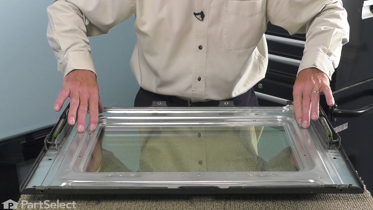 Replacing your Frigidaire Range Inner Door Glass (middle)