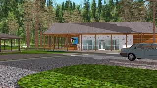 Gambar cover Conceptual Master Plan for Edith L. Moore Nature Sanctuary - Exterior Animation