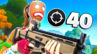 40 KILL SOLO VS SQUADS WORLD RECORD IN CHAPTER 2...