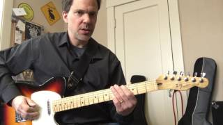 Tennessee Whiskey - easy lead guitar intro lesson