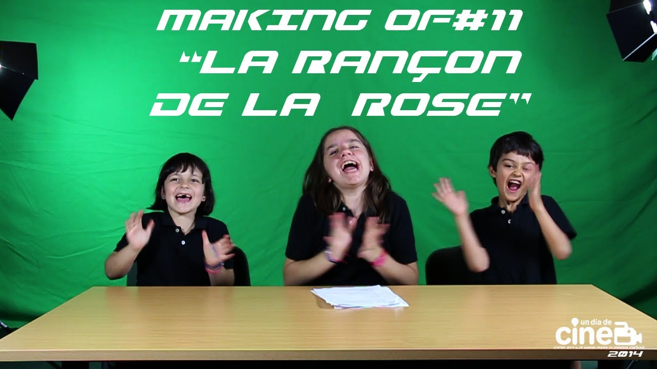 Making of Rançon de la Rose. Lycée Français de Madrid #11