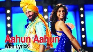 Aahun Aahun (Lyrical Full Song) | Love Aaj Kal | Saif Ali Khan & Deepika Padukone