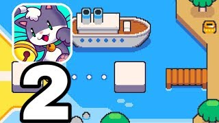 SUPER CAT TALES 2 - Gameplay Walkthrough Part 2 - Level 1-7 - 2-3