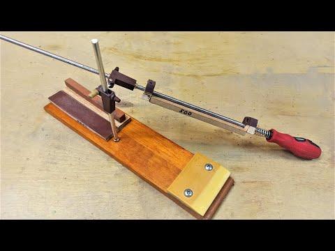 Простая точилка для ножей своими руками! How to make Knife Sharpener!