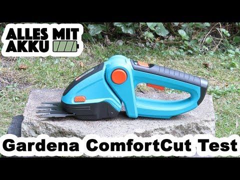 Gardena ComfortCut Gartenschere Test   ALLES MIT AKKU