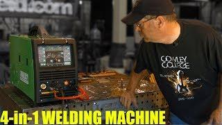 🔥 4-in-1 Machine Overview: DC TIG (Everlast PowerMTS 221sti)