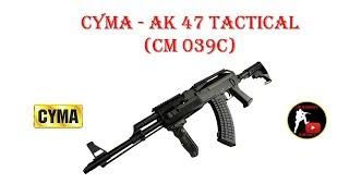 [ОБЗОР] CYMA - AK 47 TAKTICAL CM 039C AEG airsoft (страйкбол)