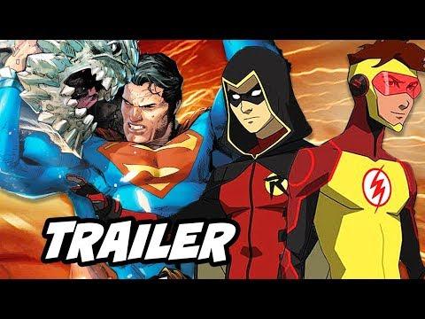 【DC動畫電影宇宙】超人之死預告片公開