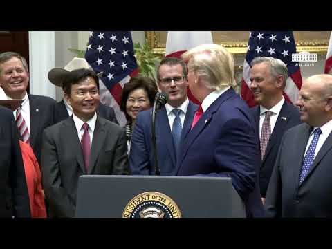 Remarks: Donald Trump Signs Two United States-Japan Trade Agreements - October 7, 2019