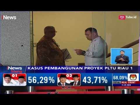 Sofyan Basir Diperiksa Terkait Kasus Suap Proyek PLTU Riau 1 - iNews Siang 06/05