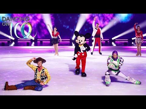 """כוכבי """"דיסני על הקרח"""" מופיעים בתכנית """"רוקדים על הקרח"""""""