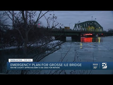 Wayne County approves $9M for repairs of Grosse Ile bridge