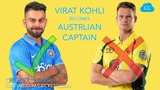 Virat Kholi Becomes Australian Captain !!