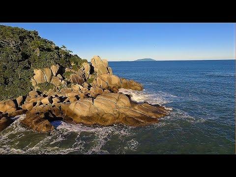 O Paraíso que Todos Deveriam Conhecer - Bombinhas Praia da Tainha SC