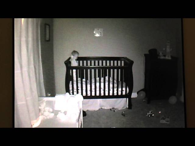 Baby Monitor App Captures Toddler Adorably Not Going To Sleep