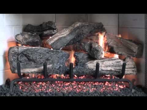 Peterson Real Fyre Charred Rugged Split Oak Gas Logs