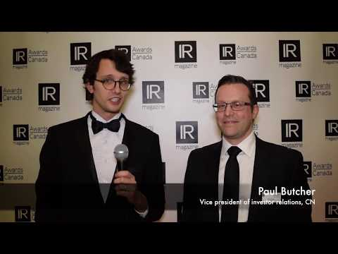 IR Magazine Awards - Canada: Paul Butcher
