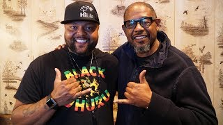 MEETING WITH FOREST WHITAKER