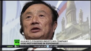 Huawei founder hits back at US & Canada