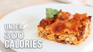 LASAGNA UNDER 300 CALORIES