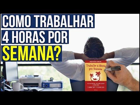 TRABALHE 4 HORAS POR SEMANA - Tim Ferris I Resumo Animado
