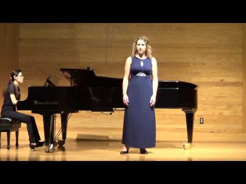 Example student from my voice studio