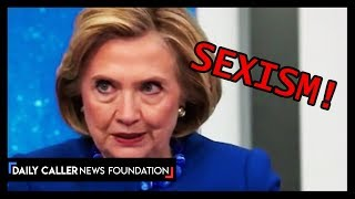 Hillary Returns To Continue Her Lectures On Sexism
